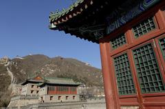 The great wall of china, unesco world heritage site, juyongguan pass Stock Photos