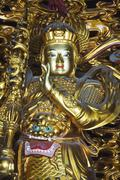 yonghe gong tibetan buddhist lama temple, beijing, china, asia - stock photo