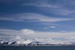 Coastline, spitsbergen, svalbard, norway, scandinavia, europe Stock Photos