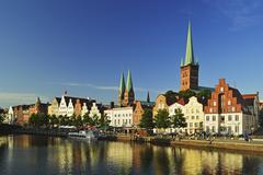 Old town of lubeck, schleswig-holstein, germany, europe Stock Photos