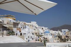 Oia, santorini (thira), cyclades, greek islands, greece, europe Stock Photos