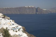 Oia, santorini (thira), cyclades, greek islands, greece, europe Stock Photos