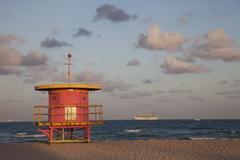 miami beach, miami, florida, united states of america, north america - stock photo