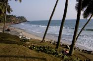 Stock Photo of kovalam  beach, trivandrum, kerala, india, asia