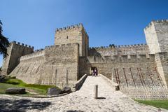 Castelo de sao jorge, lisbon, portugal, europe Stock Photos