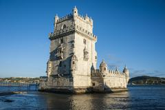 The tower of belem, unesco world heritage site, lisbon, portugal, europe Stock Photos