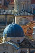 Croatia, dalmatia, dubrovnik, old town (stari grad), church of st. blaise, ca Stock Photos