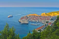 Croatia, dalmatia, dubrovnik, old town (stari grad) Stock Photos