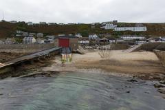 Sennen Cove Cornwall England UK near Lands End - stock photo