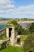 View from St Michaels Mount Marazion Cornwall Stock Photos