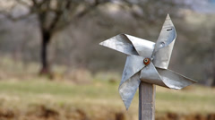 Pinwheel from sheet Stock Footage
