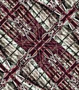mystic cross artwork - stock illustration