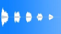 Short hinge creaks - sound effect