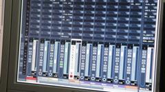 Sound Technician In The Studio Stock Footage