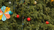 Stock Video Footage of xmas tree background