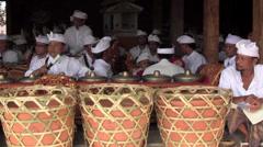 Traditional Gamelan Bali Stock Footage