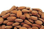 Stock Photo of shelled almonds