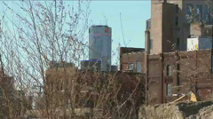 Rundown Detroit, MI Stock Footage