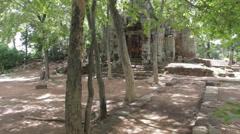 Ancient Temple Battambang 2 Stock Footage