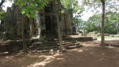 Ancient Temple Battambang Stock Footage