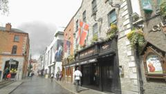 Dublin Street Stock Footage