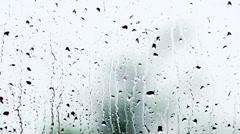 Raindrops Stock Footage