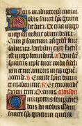 Stock Photo of illuminated manuscript