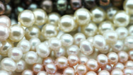 Stock Video Footage of pearl jewelry