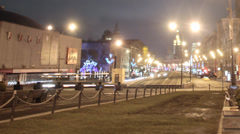 Moscow view Majakovskaya Stock Footage