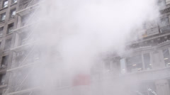 NYC Vent Steam Stock Footage