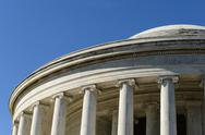 Stock Photo of jefferson memorial in washington dc