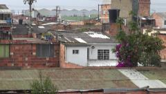 Slum, Barrio, Poor Neighborhood, Poverty Stock Footage