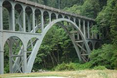 Stock Photo of Cape Creek Bridge