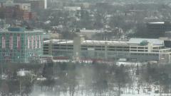Niagara Falls New York 2 Tilt Down Stock Footage