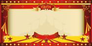 Stock Illustration of invitation big top circus