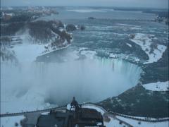 Niagara Falls Sunset Time Lapse (2.7K) Stock Footage