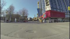 Clifton Hill Niagara Falls Day Drive - stock footage
