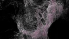 3d animation of dust particles. Alpha channel is included. Stock Footage