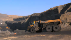 Mining - Open Pit - stock footage