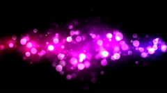Abstract Particle Background - Loop Purple Stock Footage