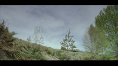 Mountain view shoot on super 16mm film Stock Footage