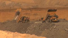 Stock Video Footage of Mining - Waste Rock Dump