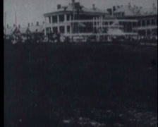 Wright Brothers First Tests 06 Stock Footage