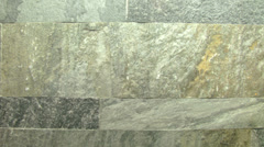 Texture track stone tile 03 Stock Footage