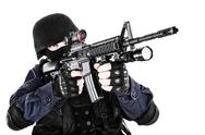 Stock Photo of SWAT officer