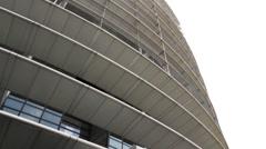 EU parliament Strasbourg France Stock Footage