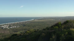 View from Mount Coolum in Queensland, Australia Stock Footage
