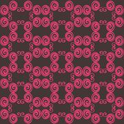 abstract seamless texture, colorful endless pattern - stock illustration