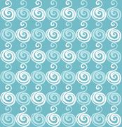 Wave pattern (seamlessly tiling). seamless wave background.ocean texture, wav Stock Illustration