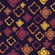 Abstract seamless texture, colorful endless pattern Stock Illustration